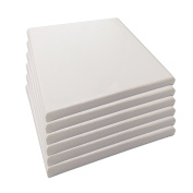 LWR Crafts Stretched Canvas 20cm X 20cm Pack of 6