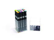 Mepxy Design Marker Set of 12color - Pastel