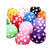 Balloons, Doinshop 10 PCs Latex Polka Dot Balloon Party Wedding Birthday Decorating