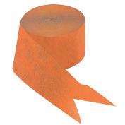 Orange Paper Streamers
