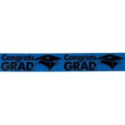 """""""Congrats Grad"""" Blue Streamers"""