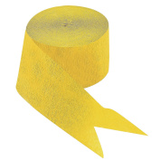 Yellow Paper Streamers