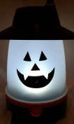 (1) Halloween Lighted Pumpkin Lantern & a FREE Kid's Animal Puppet Mitt - Colour and designs vary upon availability