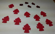 Fire Truck Brads and Die Cuts Set