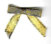 BEEKLEY BOWS Cute Mini Patterned Craft Sewing Bow Embellishments