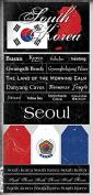 South Korea Scratchy Sticker Seoul,Busan