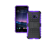 HTC 10 / HTC One M10 Case, MCUK Heavy Duty Rugged Dual Layer - Soft/Hard Shell 2 in 1 Tough Protective Cover Case with Kickstand for HTC 10 / HTC One M10