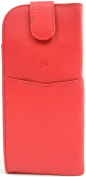 Ladies / Womens 100% Real Soft Leather Spectacle / Glasses Case / Holder