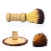 Gospire Pure Badger Bristle Shaving Brush with Wooden Handle Anti-slip High Quality