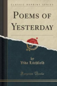 Poems of Yesterday