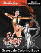 Grayscale Coloring Book Slay Fantasy