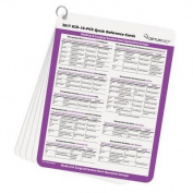 ICD-10-PCs Quick Reference Cards 2017