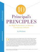 10 Principal's Principles for High Performance in Diverse, Low-Income Schools Quick Reference Guide