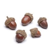 Darice Autumn Fall Decor - Bag of Small Faux Acorns 120ml/120g