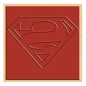 Rubber Stamp DC Comics Superman Logo Rubber Stamp