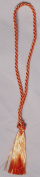 100 Orange Coloured Bookmark Tassels