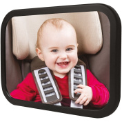 TopQPS® Baby Car Mirror Made to keep your Child Safe-Satisfaction is . -Child Safety is Extremely Important and Everyone Should have One of These Rear Facing Baby Mirrors for Car