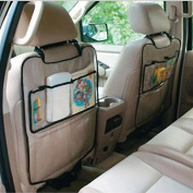 XILALU Car Auto Seat Back Protector Cover For Children Kick Mat Storage Bag