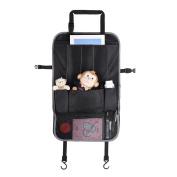 GHB Car Backseat Organiser Perfect X-Large Size Auto Back Seat 6 Pocket Storage
