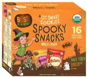 Bitsy's Brainfood Smart Cookies Spooky Snacks, Orange