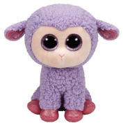 Ty Inc Beanie Boo Plush Stuffed Animal Lavender the Purple Lamb 15cm