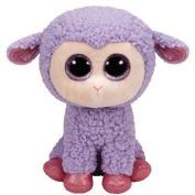 Ty Inc Beanie Boo Plush Stuffed Animal Lavender the Purple Lamb 15cm