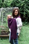 Bibetts Pure Linen 'Plum' Ring Sling Baby Carrier