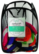 Collapsable Meshed Storage Organiser Basket, Assorted Colours - 33cm W x 50cm H
