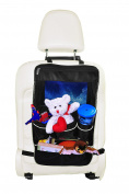 Mandala Crafts Child Car SUV Auto Kick Mat Kids Seat Cover Protector Travel Storage Organiser