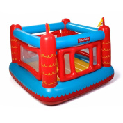 Fisher Price Bouncetastic Castle Bouncer With Removable Mesh Walls | 93504E-BW
