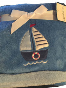 Nautica Kids Plush Blanket - Sailboat