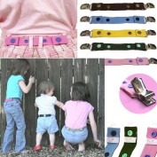 Adjustable Elastic Durable Snap Belt for Baby Children Toddler 5 Pack