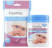 NEW On-the-Go All Natural Cleaning Tablets for Baby Bottles/Sippy Cups and FREE Pacifier Wipes