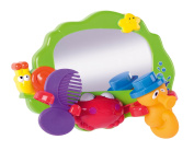 Bath Mirror Toy Play Set With Comb and Squirter