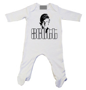 Scott Walker Baby Grow White