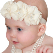 Baby Headband,Zolimx Babys Girls Flower hairband Hair Accessories Elastic Chiffon Photography Headwrap 5Pcs