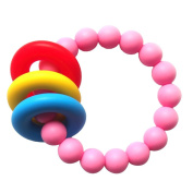 Serda Fashion Silicone Baby Safe Teething Bracelet for Mom to Wear