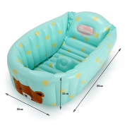 Global- 90*55*25cm Collapsible bathtub Baby Inflatable Pool Children's bath tubs Neonatal bathtub