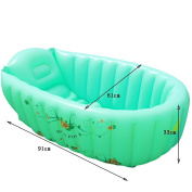 Global- Children's wading pool,Foldable newborn supplies,Baby Inflatable Pool,Children's bath tubs Neonatal bathtub