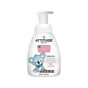Attitude Little Ones 3 in 1 Shampoo Shower Conditioner Pump Fragrance Free 295ml