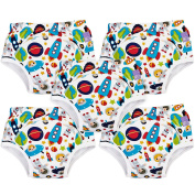 Bambino Mio, Potty Training Pants, Outer Space, 18-24 Months