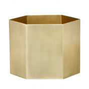 Ferm Living Hexagon Pot Brass - X-Large