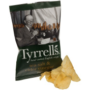 Tyrrells Sea Salt & Cider Vinegar Crisps 40g
