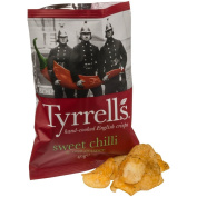 Tyrrells Sweet Chilli & Red Pepper Crisps 40g