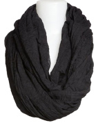 Infinity Nursing Scarf Lactation Cover For New Mothers Breastfeeding black