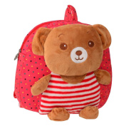Cute Cartoon Backpack Kindergarten Shoulder Bag Fashion School Bag-Bear A2