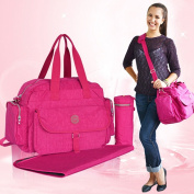 Global- 42*20*34cm Waterproof Multifunction Pregnant women Going out backpack,washed cloth Large capacity Mummy package,Fashion Freaky essential travel Multifunction backpack