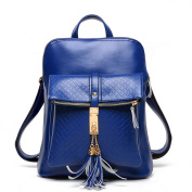 Honeymall Ladies Genuine Leather Backpack Fashion Shoulder Bag Cross-Body Bag Women Rucksack