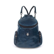 Women Girls Ladies Backpack Fashion Shoulder Bag Rucksack Genuine Leather Travel bag Green Blue