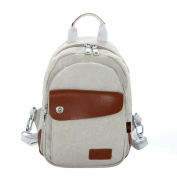 Yisidoo Woman and Men Casual Chest/Shoulder Multifunction Canvas Love¡¯s Backpack
